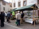 Umwelt-Informationsstand am Georgi-Markt vom 23.04.2010 in Mals