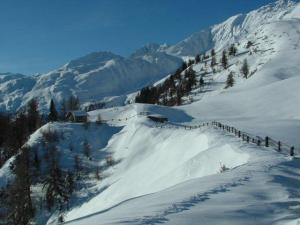 Winterlandschaft Stilfser Schäferhütte