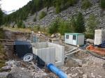 Kraftwerksbau am Arundabach in der Gemeinde Mals