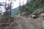 Strassenbau in Oberjuval - Schermetzein Gemeinde Kastelbell-Tschars