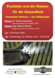 Pestizide und die Risiken für die Gesundheit