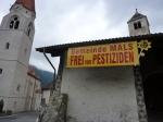 Die Malser Bürger setzen sich für den Schutz ihrer Gesundheit ein (Foto Umweltschutzgruppe Vinschgau)