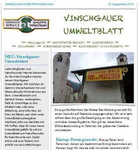 Vinschgauer Umweltblatt