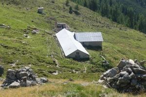 Rifair-Alm auf 2.145 m ü.d.M. (Foto Umweltschutzgruppe Vinschgau)