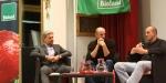 Landesrat Arnold Schuler, Bioland Obmann Michael Oberhollenzer, Prof. Carlo Leifert