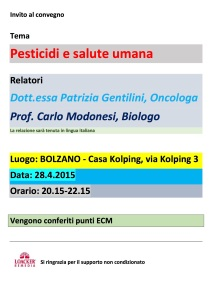 Gentilini e Modonesi Relazione 28.04.15