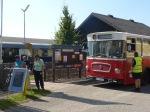 Mit dem Naturpark-Bus geht es weiter ab Bahnhof Ernstbrunn