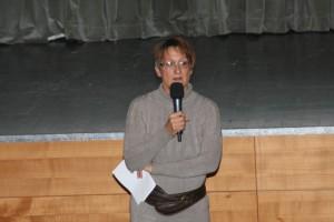 Eva Prantl, Vorsitzende der Umweltschutzgruppe Vinschgau