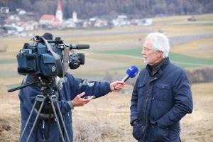 Interview Rai Südtirol mit Hans Rudolf Herren