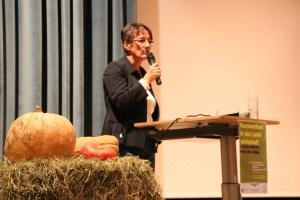 Die Vorsitzende der Umweltschutzgruppe Vinschgau Eva Prantl